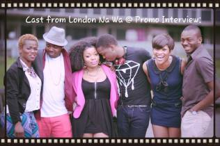 Press Interview...The main cast of London Na Wa and I