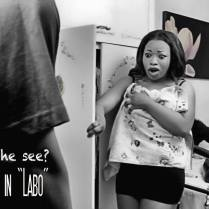 Miss Olivia Eze in Labo...