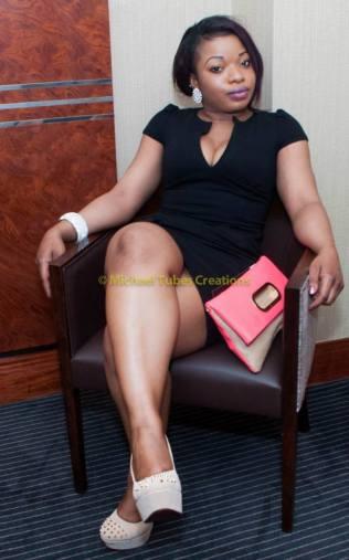 Miss Olivia Eze at Labo press Conference